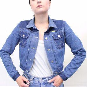 Brand New Wrangler x Peter Max Denim Jacket Sz. S