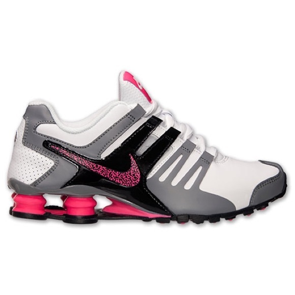 best service fe11a c8efc Nike Shox Current 639657 104 wht pink gry Sneakers NWT
