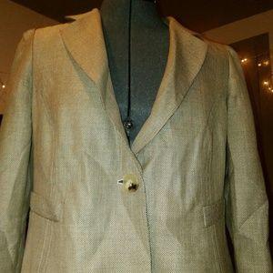 Armani Collezioni Wool Womens Blazer