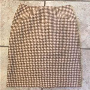 Ann Taylor Loft pencil skirt, size 10P.  64% wool