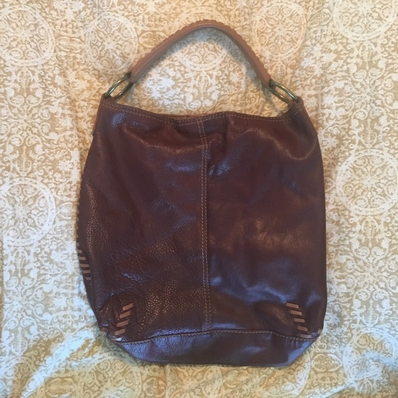 Lucky Brand Bags   Brown Leather Slouchy Hobo Bag   Poshmark be64f52ef4