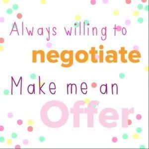 Make me an offer! 💕