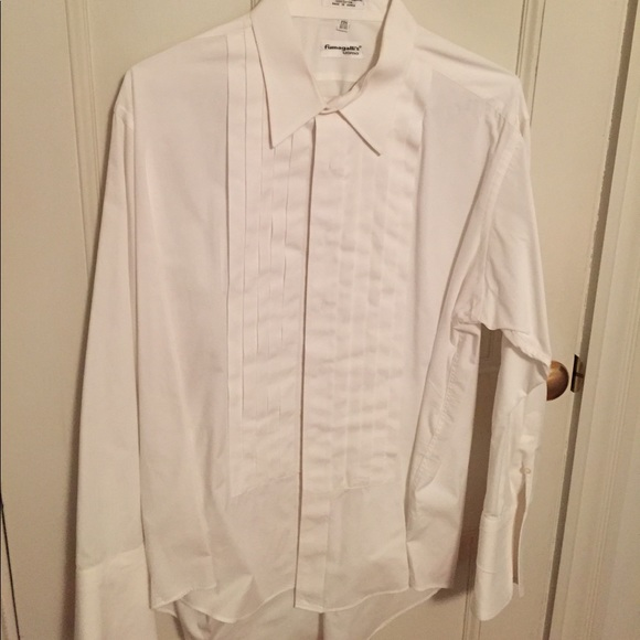 58 off other mens tuxedo shirt white size 17 1 2 32 for 17 33 shirt size