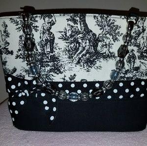 Vivary Bags - Toille Vivary Printed Fabric Tote