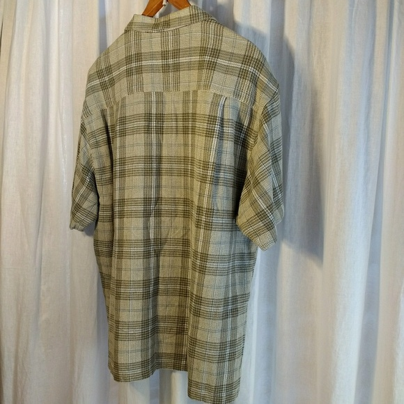 Columbia Vintage Columbia Plaid Button Down Shirt Sz Xl