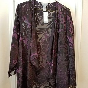 Catherines Special Occasion Sheer Jacket