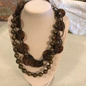 Leopard premier designs necklace