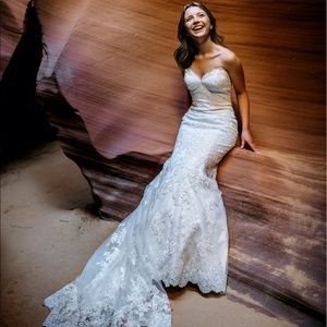 Beautiful Wedding Gown - Allure Romance gown!