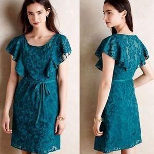 Moulinette Souers Fluttered Scrollwork Dress