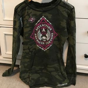 Affliction large reversible thermal, EUC