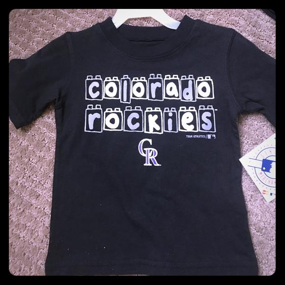 e4fc2799beb Kids 18m baseball apparel Colorado Rockies tee nwt. NWT. Team Athletics