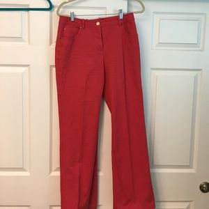 St John Sport red classic jeans