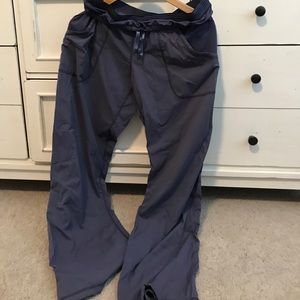 Lululemon pants, 10, blue