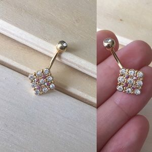 Belly Button Ring Metal For Sensitive Skin