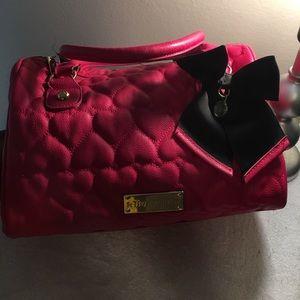 Hot Pink Betsey Johnson bag