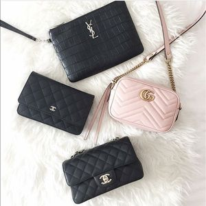 b61b4ad3bf4e0 Gucci Bags - GG Marmont Matelassé Minibag in nude pink.