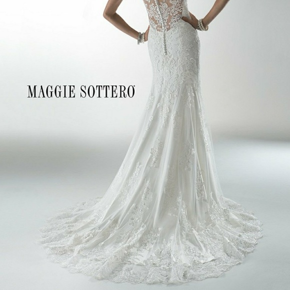 Maggie Sottero Lace Wedding Gown: 35% Off Maggie Sottero Dresses & Skirts