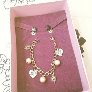 Jewelry - Rose Gold Plated Charm Bracelet