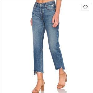 BNWT Grlfrnd Helena jeans