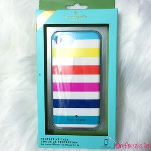 kate spade Rainbow Stripes iPhone 6 7 Case