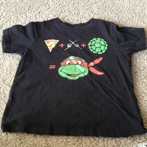 NIckelodeon NINJA TURTLE TEE 🍕SMALL 5/6 cotton 🐢