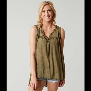 Free People Hudson Henley Tank Top