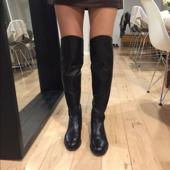 405faa3874b Joie Shoes - Joie over the knee flat boots. 6.5