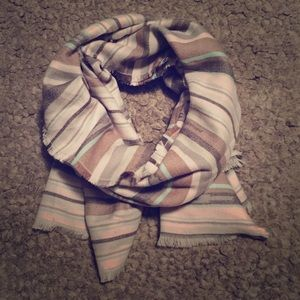 Maurices Striped Scarf/Shawl/Wrap NWOT