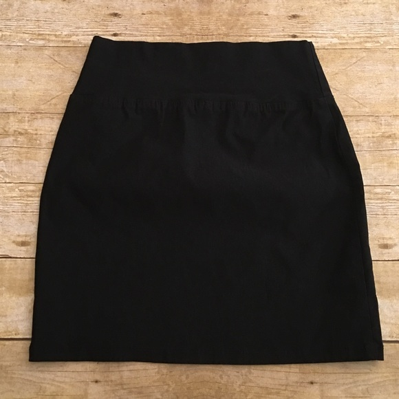 maurices black maurices tight midi skirt small from s