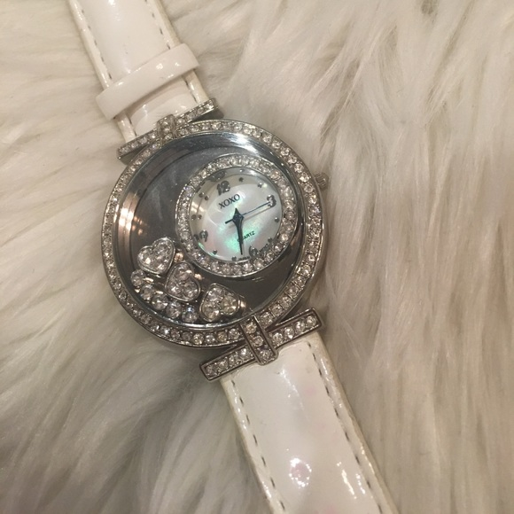 Used Xoxo watch white for sale in Monticello - letgo