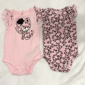 Other - A Set of 2 Leopard Onsies