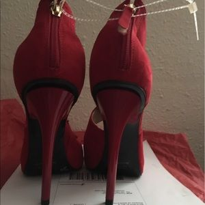 b707335ed42 Guess Shoes - Red dressy heels from Guess. Final price‼