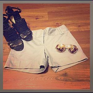 Express Light Gray Shorts
