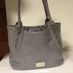 Nine West gray shoulder bag purse