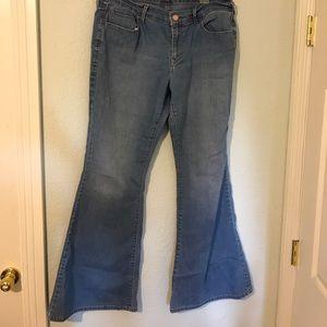 blue old navy flare jeans on Poshmark
