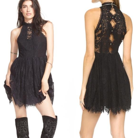 948357a4133 Free People Dresses   Skirts - Free People Verushka Lace Mini Dress