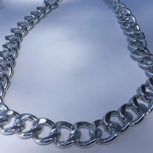 Jewelry - Silver Chunky Chain Necklace