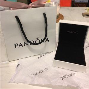Genuine Pandora bracelet box and bag