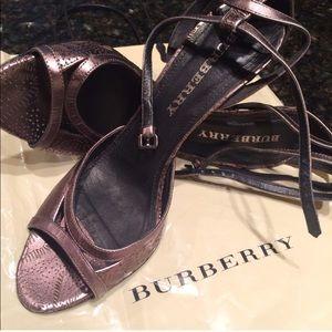Burberry Heels.