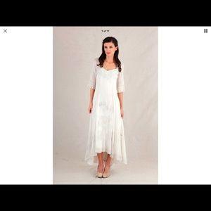 Nataya wedding Dress S small worn once like new