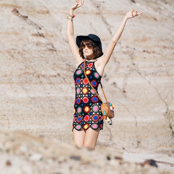 82f528c560b27 H&M Dresses | Hm Loves Coachella Crochet Dress Size 6 | Poshmark