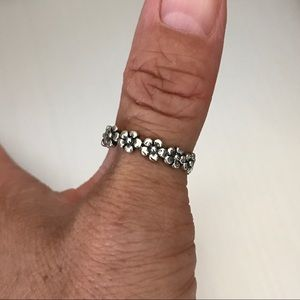 Jewelry - Sterling Silver Flower 🌺 Ring