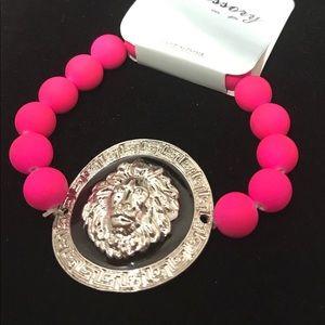 Jewelry - Hot Pink Stretch Bracelet