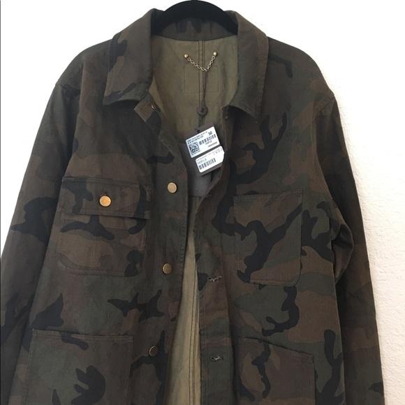 df66a83961d Louis Vuitton Supreme Camo Jacket sz50(M L)