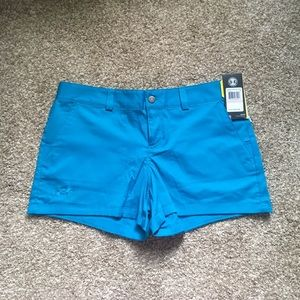Under Armour women's shorts, water resistant