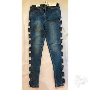 Ladder jeans skinny high rise BNWT