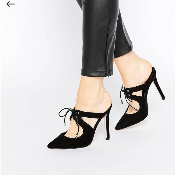 de26bca75 Asos Shoes | Play To Win Pointed Heeled Mules | Poshmark