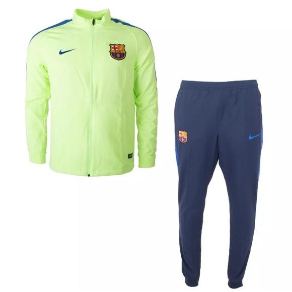 3567b7c2d642 Barcelona FC 2016 17 Nike Trainingspak Heren