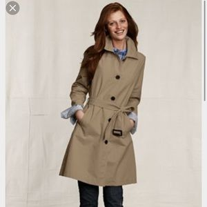 Lands' End Canvas lightweight twill overcoat