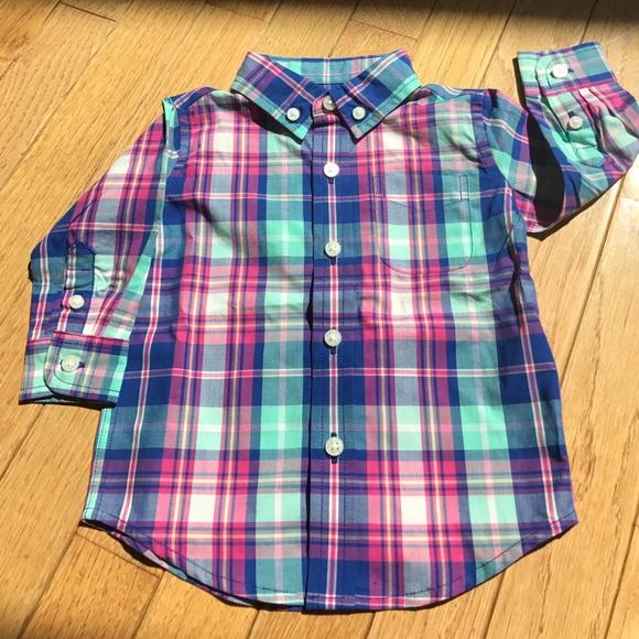 b3fcc4efd Janie and Jack Shirts & Tops   Janie Jack Baby Boy Button Down Shirt ...
